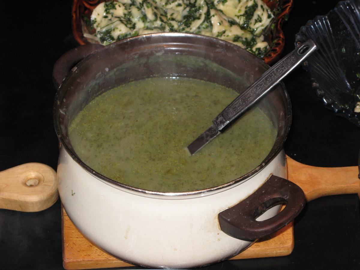 Rmanova juha - ni boljšega za želodec.