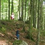 Gozd je najboljše otroško igrišče.