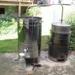 Oprema za destilacijo.