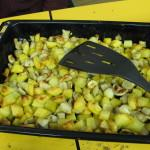 topinambur s krompirjem